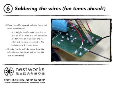 Soldering the Wires (fun Times Ahead!)