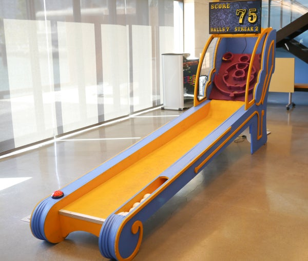 DIY Skee Ball Machine