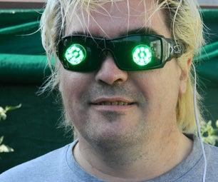 "BLONDIE ""Rapture"" Man-from-Mars Flashing Glasses"