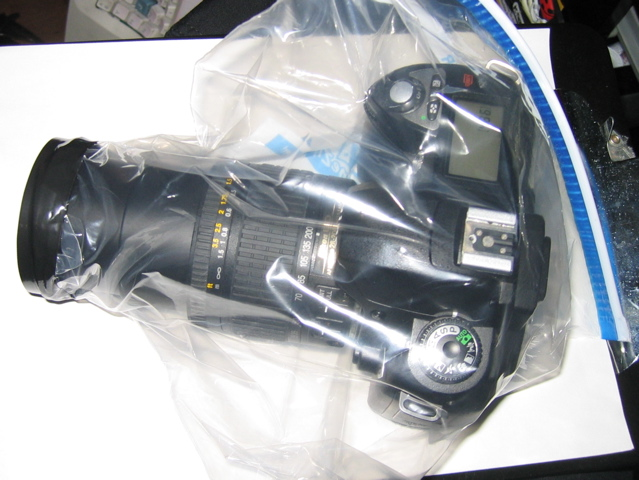 Camera Zip-lock