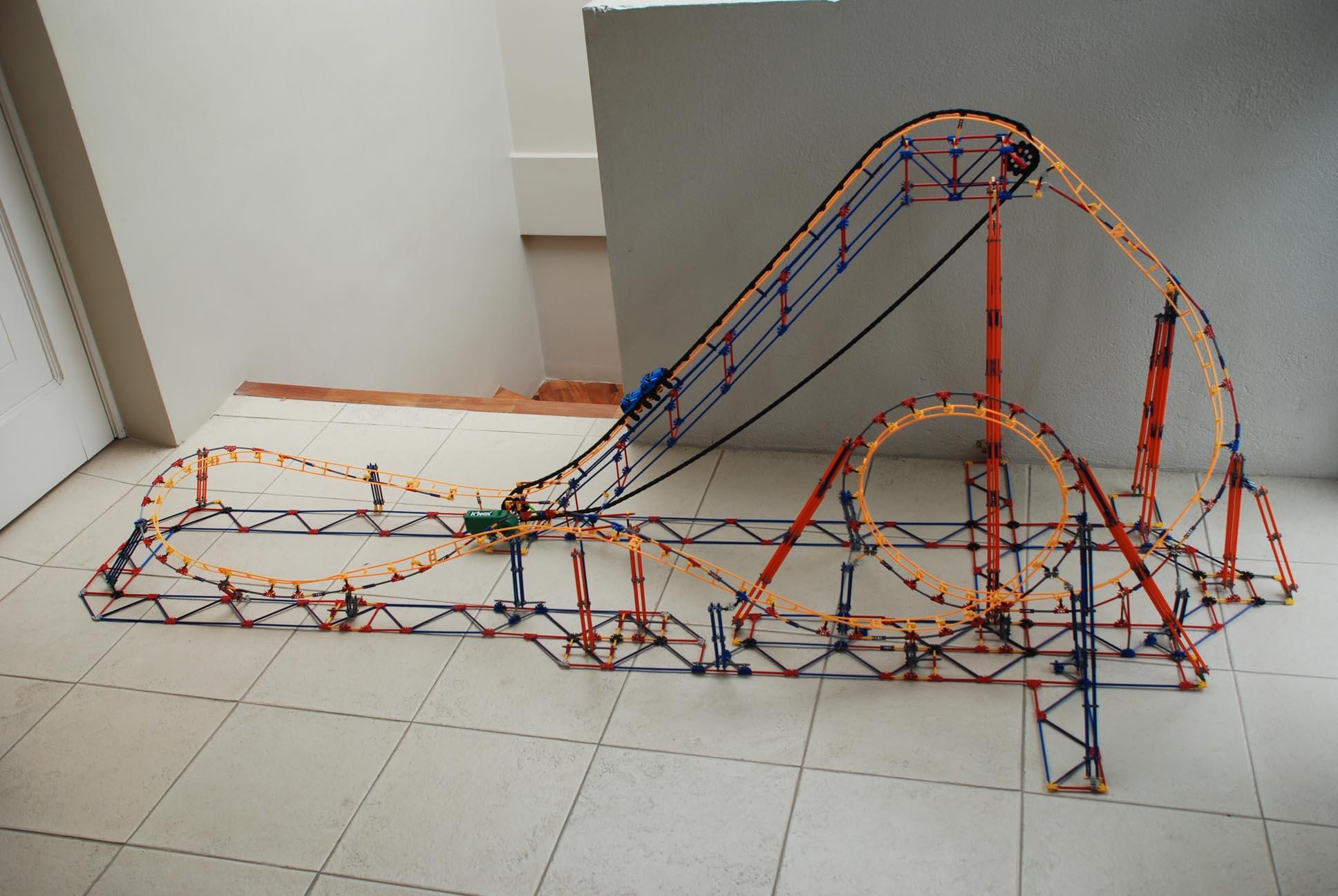 Electric Eel knex roller coaster
