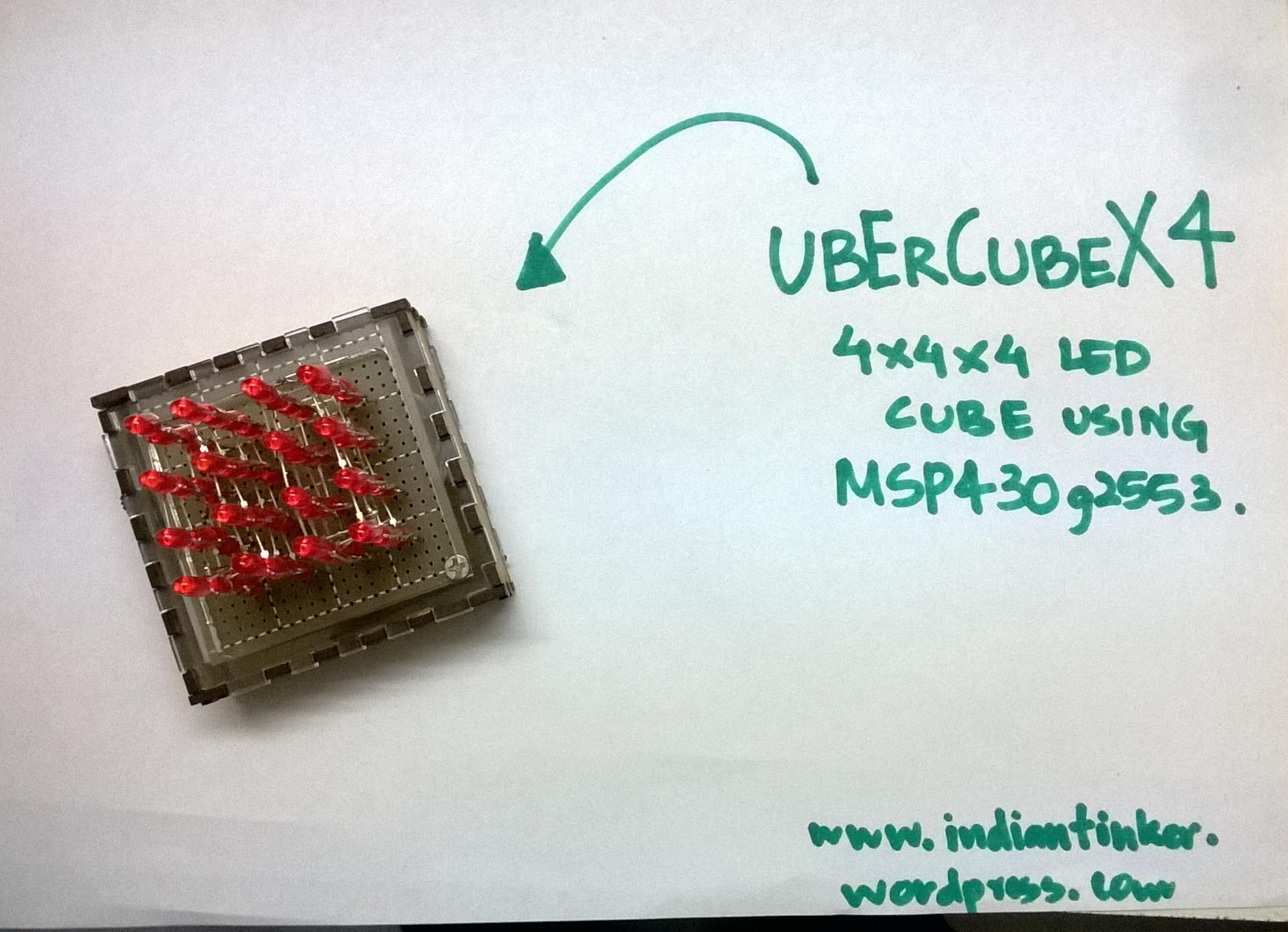 UberCube X4- The Benchtop LED Cube