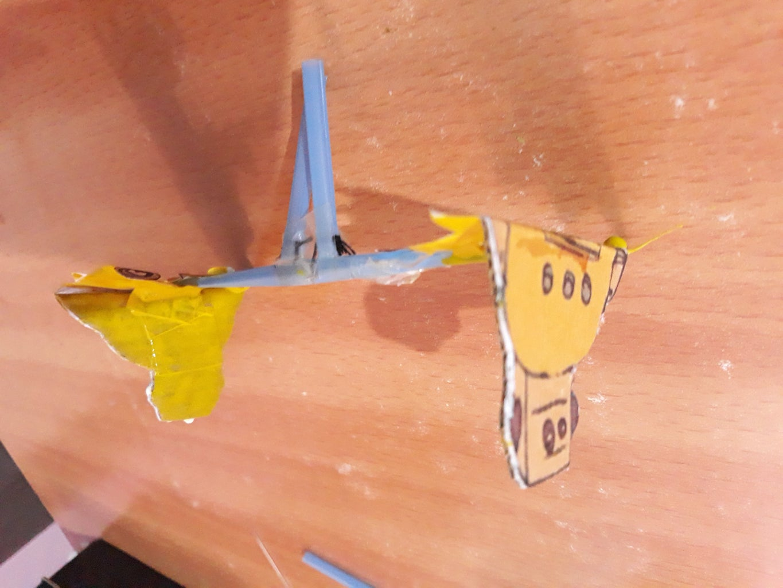 Making Robot Decoration