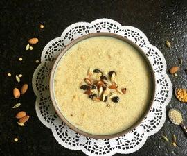 Quinoa Payasam/Kheer/Pudding (Vegan)