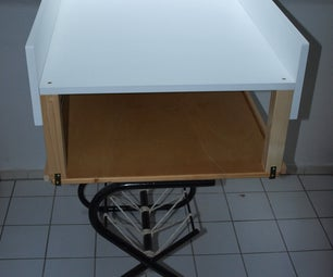 Convert a Table to a Babys Changing Table