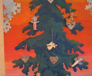 Flat No-storage Christmas Tree