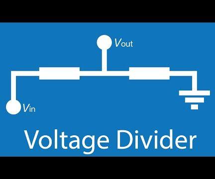 Voltage Dividers (Interactive!)