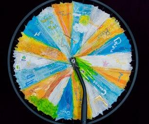 Inspiring Muse From a Bike Wheel