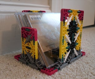 Knex CD Stand & Pencil Holder