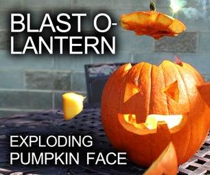 How to Make an Exploding Pumpkin Face (Blast-O-Lantern)