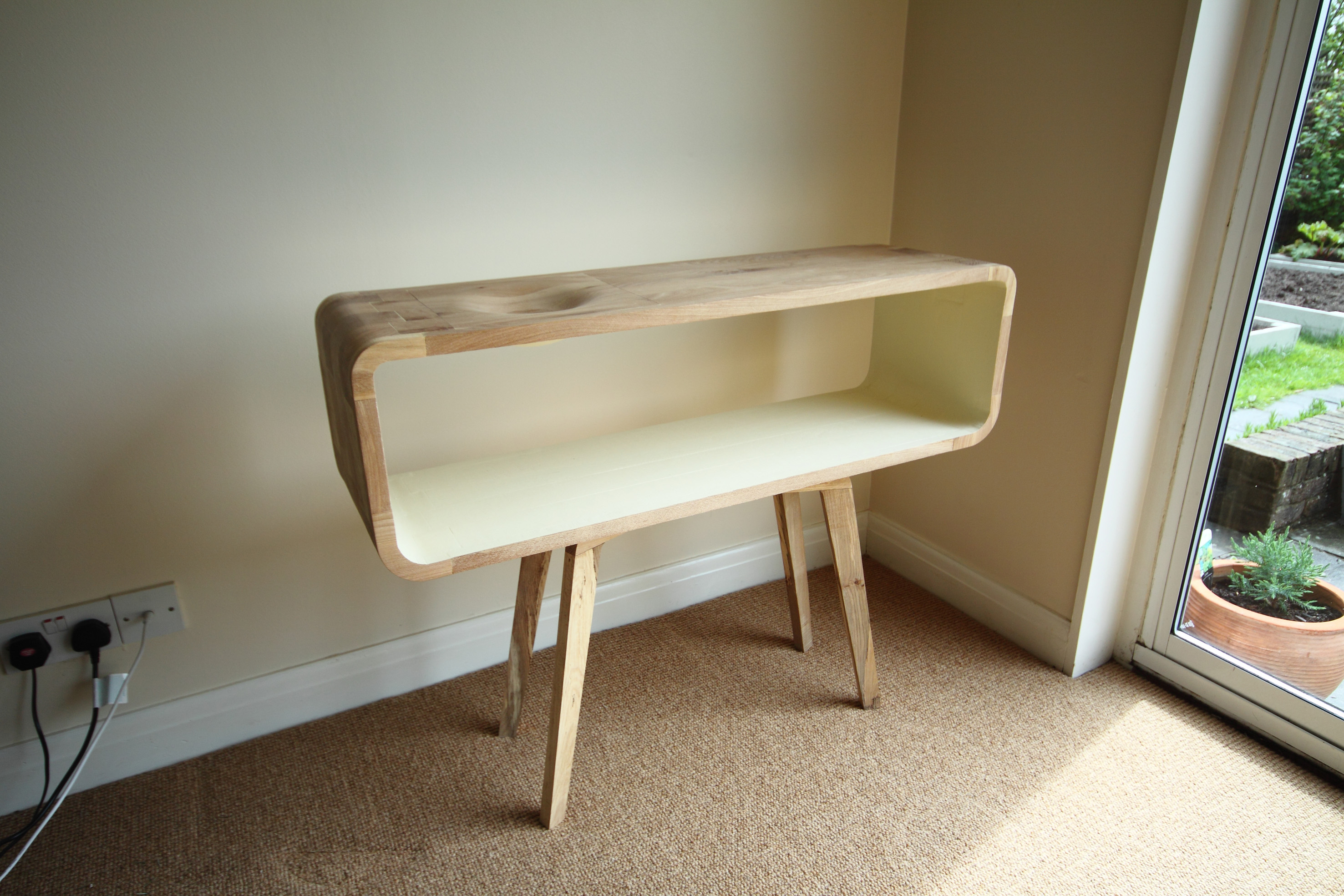 50's Inspired Sideboard with integral bowl