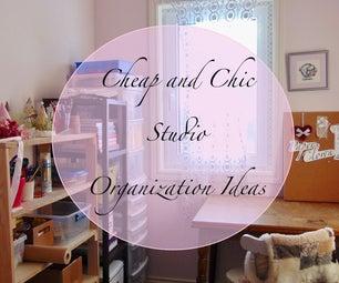 Studio Organization Ideas