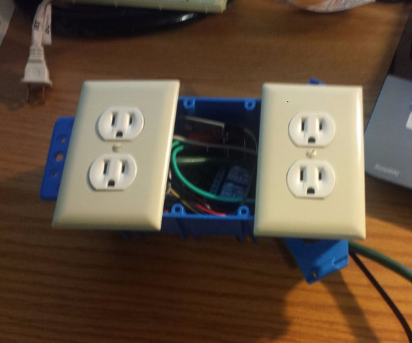 Bluetooth Controlled Outlet (Home Automation)