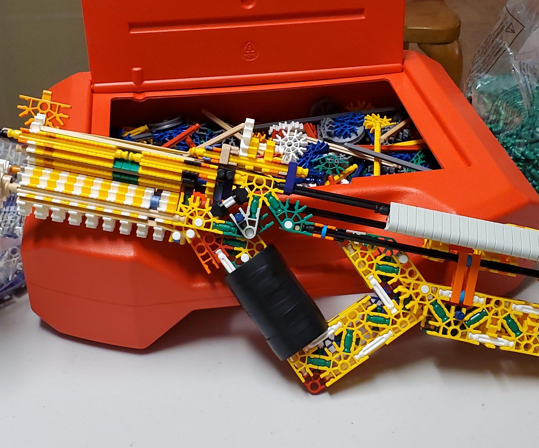 Toy K'nex Gun TR8-2020