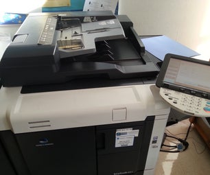 Register Email on Photocopier