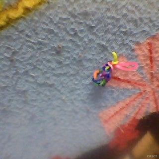 Rainbow Loom Blueberry Charm