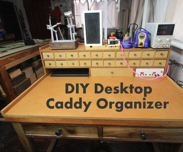 Ultimate DIY Small Parts Organizer Caddy