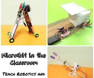 Micro:课堂钻头:用3个简单的项目教授机器人和自动化