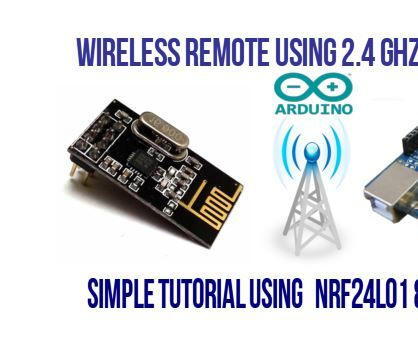 Getting Started With NRF24L01 Wireless Transceiver Module