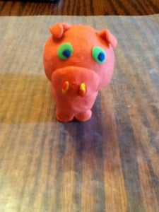 How to Make a Pet Pig Out of Clay