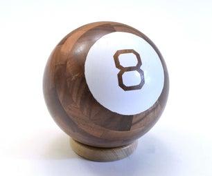木魔术8球