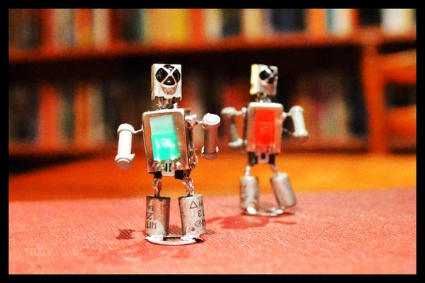 Dancing, Magnetic Robots