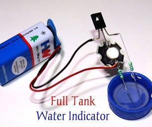 Full Tank Water Indicator Circuit Using D882 Transistor