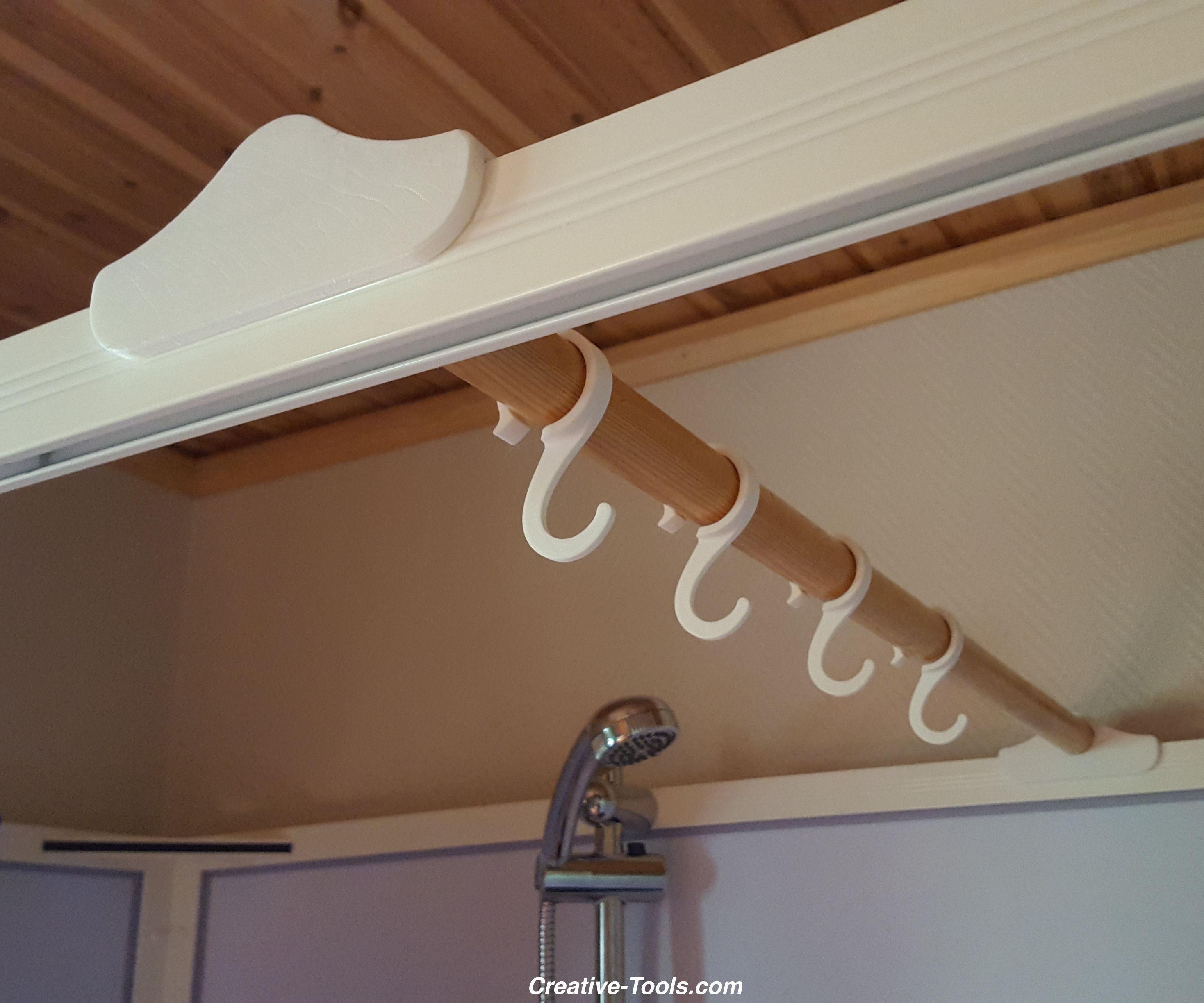 Shower cabin hook accessories