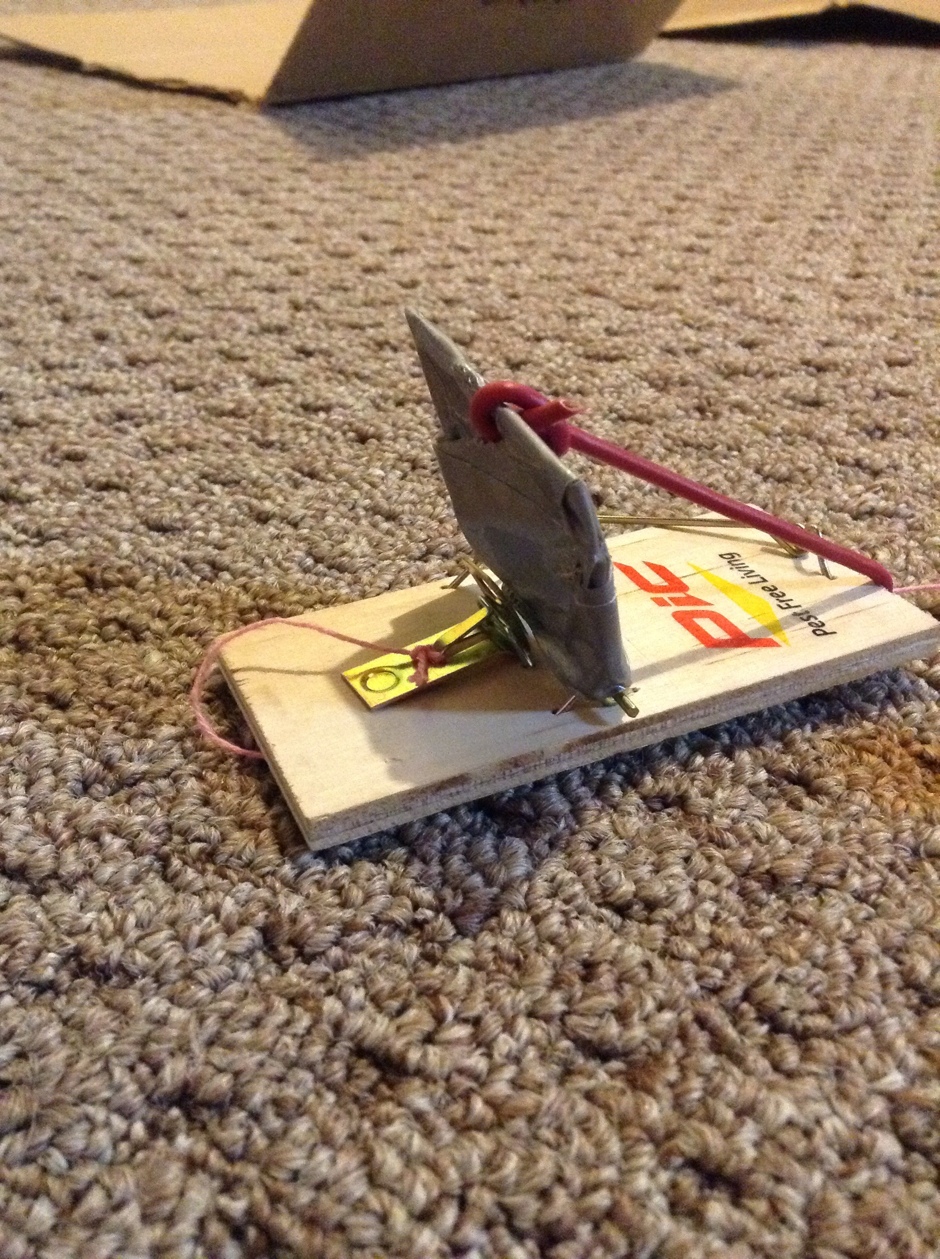 Catapult Mouse Trap