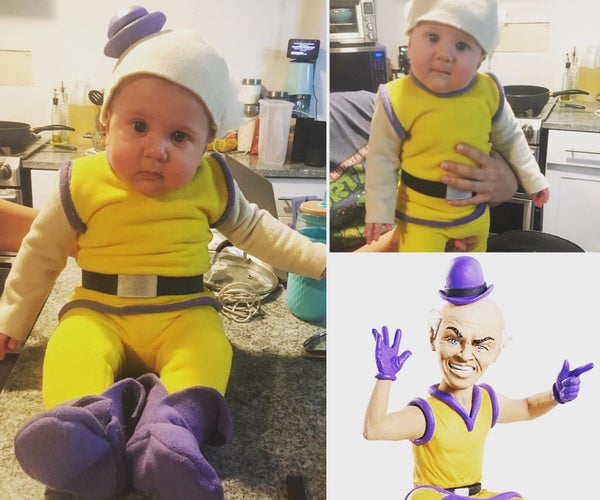 """How to Make a  DC: """"Mister Mxyzptlk"""" Baby Costume"""