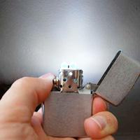 LED Zippo Flashlight
