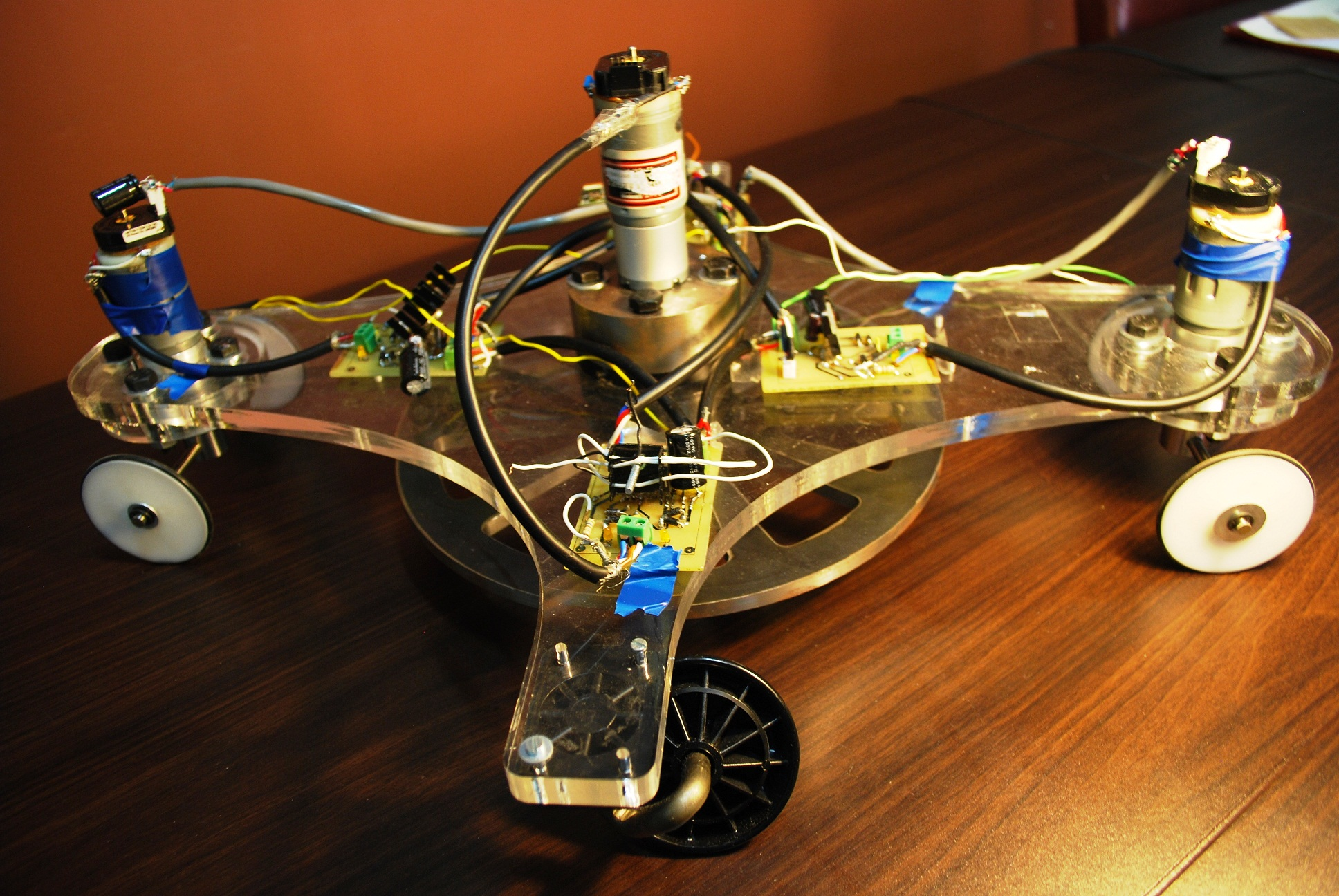 ShakerBot: A Snakeboard Robot