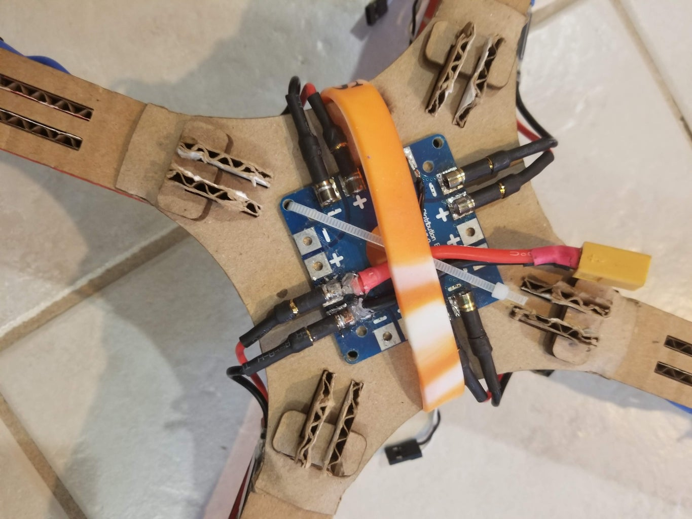Mount and Wire the ESCs