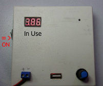 Portable Variable Voltage Power Supply