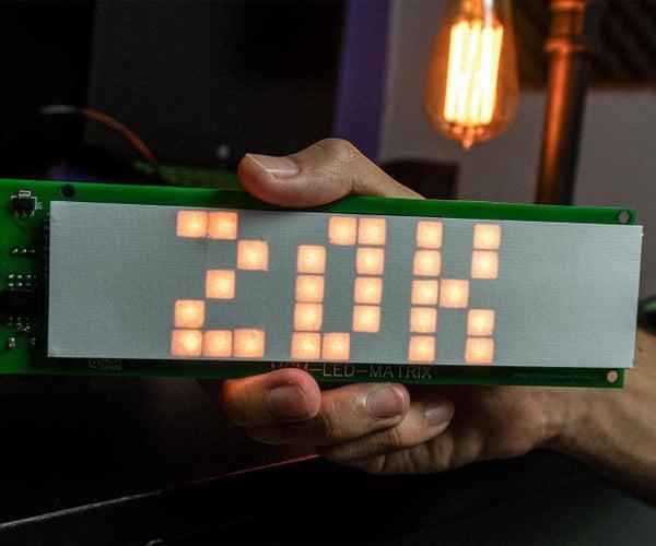DIY SMART LED MATRIX (ESP8266 + WS2812)