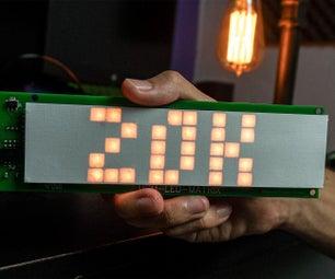 DIY智能LED矩阵(ESP8266 + WS2812 / Neopixels)