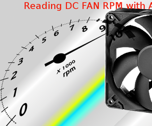 Reading DC Fan RPM With Arduino