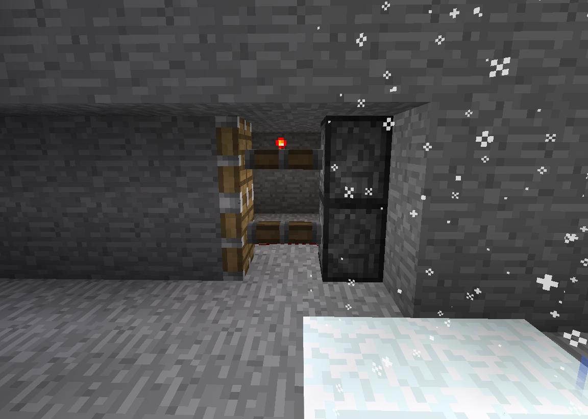 Minecraft Secret Entrances: Secret Outrance