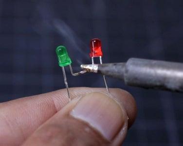 Prepare the Charging Status LEDs