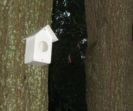 Simple PVC Birdhouses