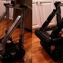 A 4WD Robot Driven Via Remote USB Gamepad