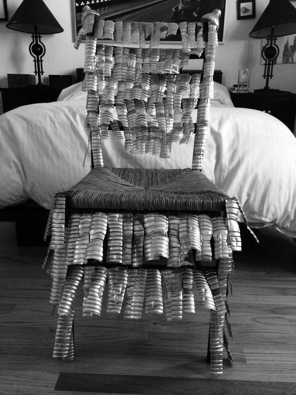 Plastic Bottle Armor Chair