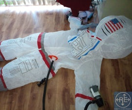 Positive Pressure Suit (PAPR) From Inflatable Astronaut Costume