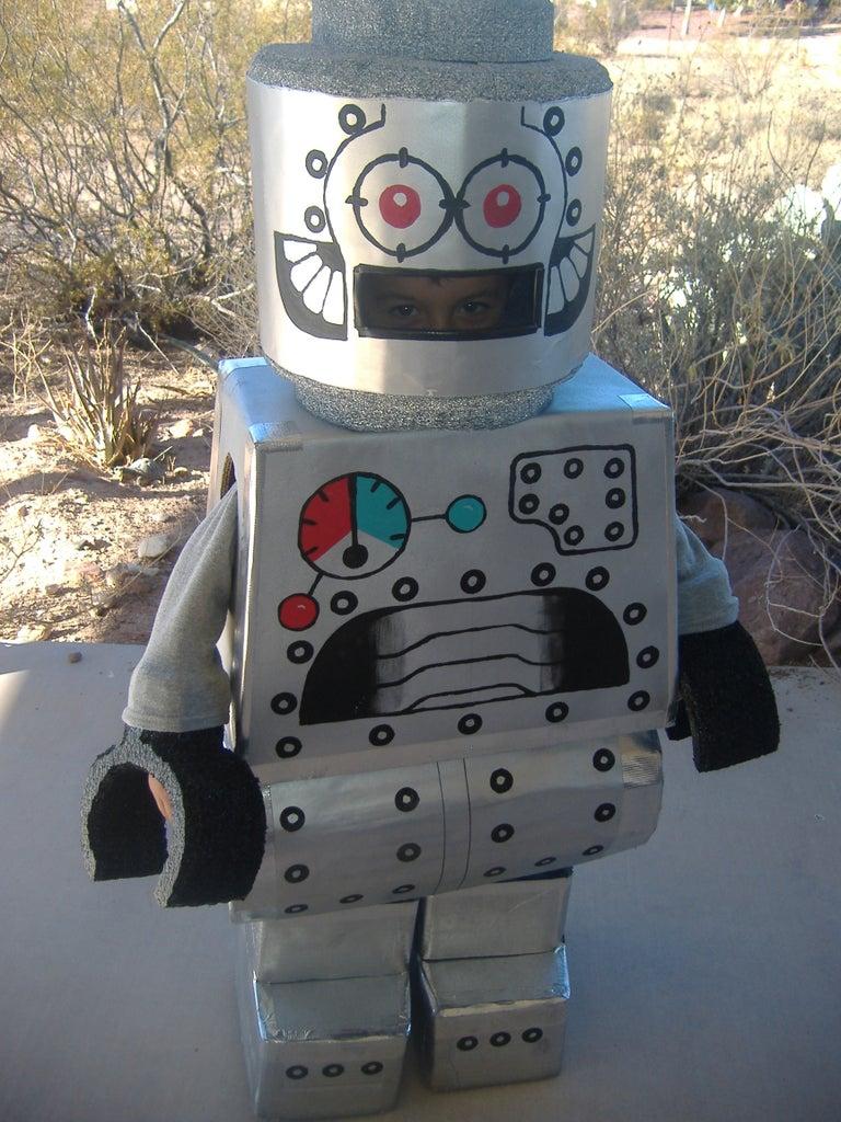 Lego Robot Minifigure Costume