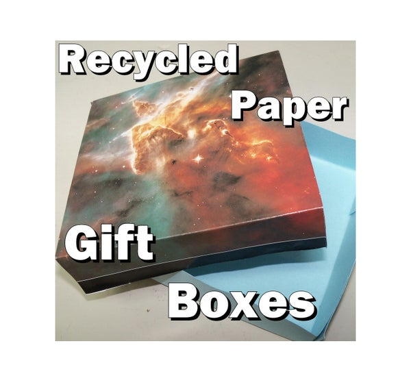 Recycled Paper Gift Boxes