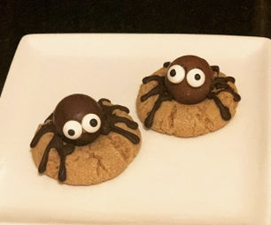 Creepy, Crawly Spider Cookies