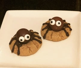 Creepy, Crawly Spider Cookies