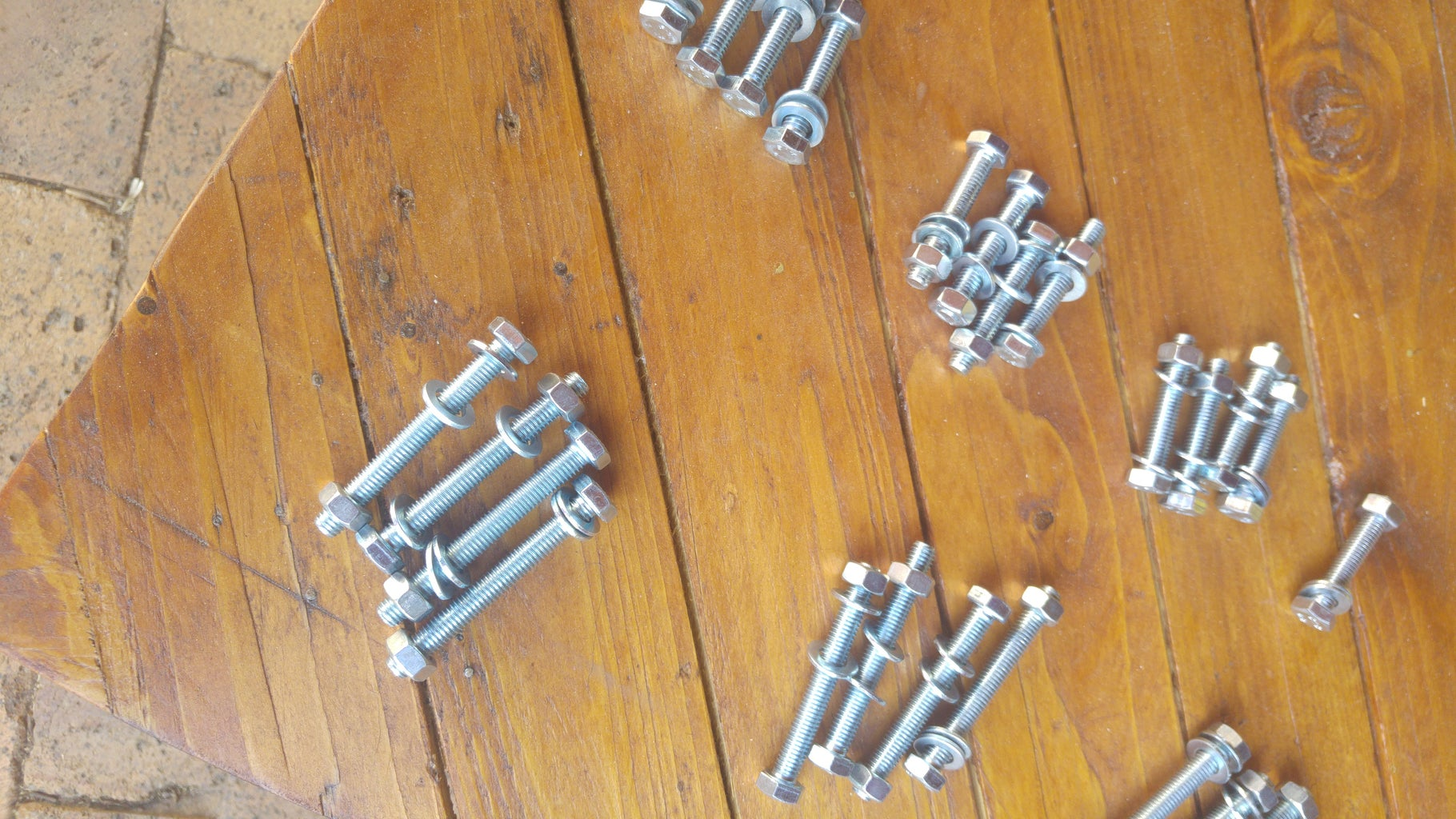 Nuts, Bolts, Hangers and Feet