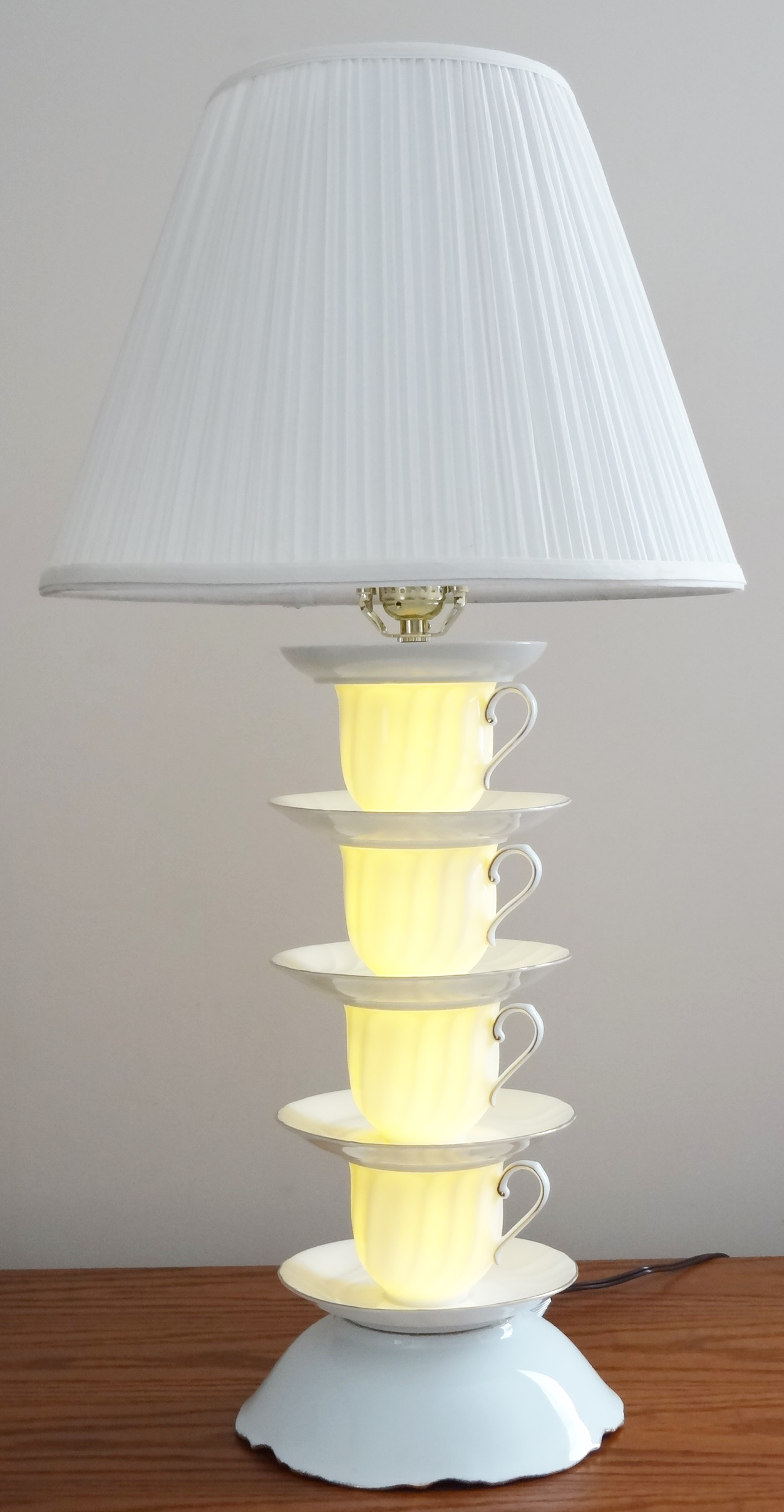 Tea Cup Lamp, Coffee Cup Lamp