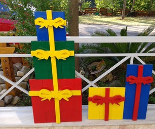 Christmas Wooden Gift Boxes